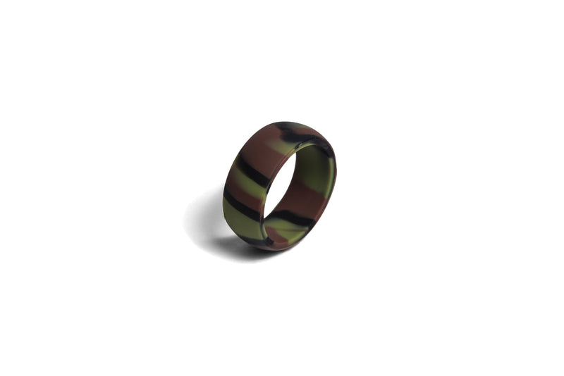 Redi Ring Mens Camo Silicone Ring Size available 7-14