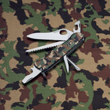 Victorinox PKT Knife Trailmaster Black and green Camo