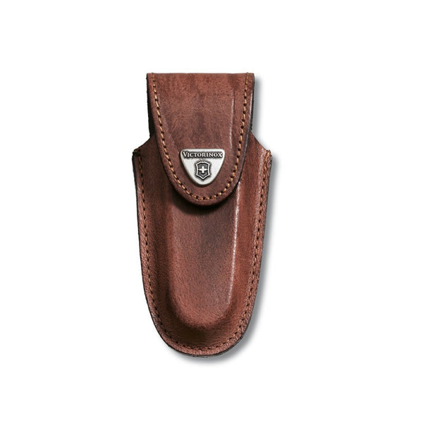 Victorinox Leather Pouch Brown