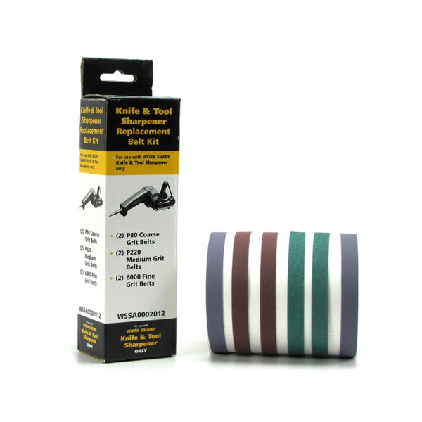 Work Sharp Belt Kit Assorted - 6 Pack