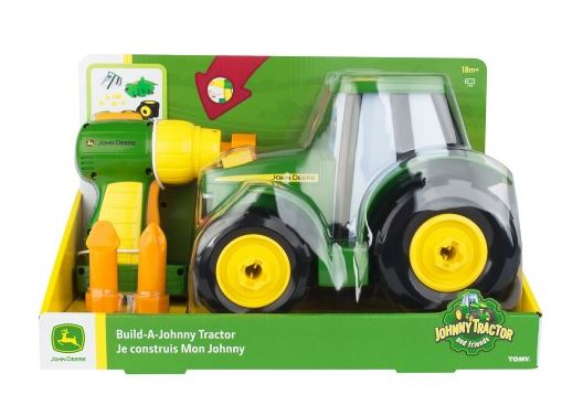 Tomy Tomy Build A Johnny Tractor