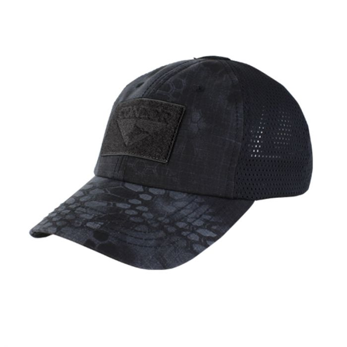 Condor Mesh Tactical Cap with Hook & Loop Panels - Typhon