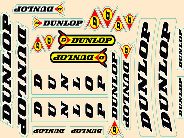 N Style Dunlop Universal Decal Sticker Kit N30-1007