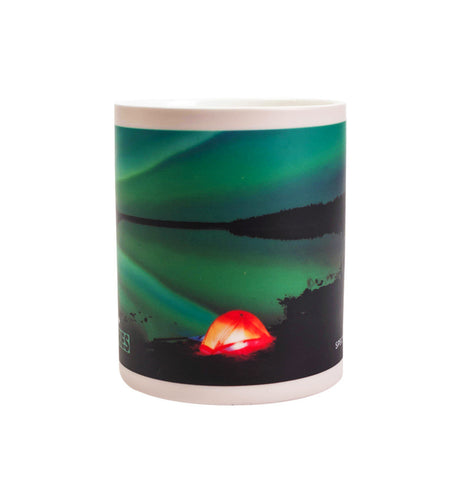 Aurora Borealis Coffee Mug (Heat Activated)