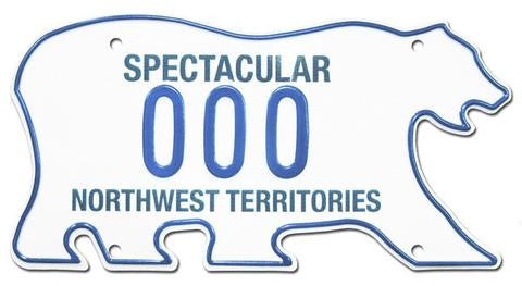 Northwest Territories License Plates
