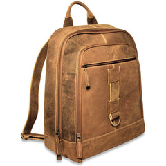 Jack Georges #A5416 Arizona Rustic Buffalo Leather Hunter Camo Backpack