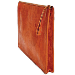 "Libero Ferrero Vegetable Tanned Hickory Horween Leather Edmond 15"" MacBook Attaché Portfolio"