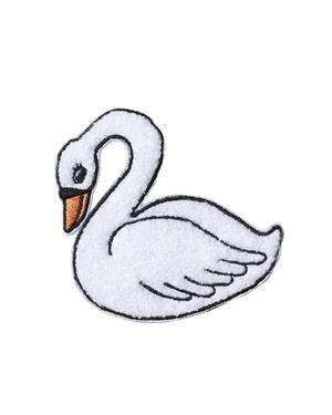 Shy Swan Chenille Patch
