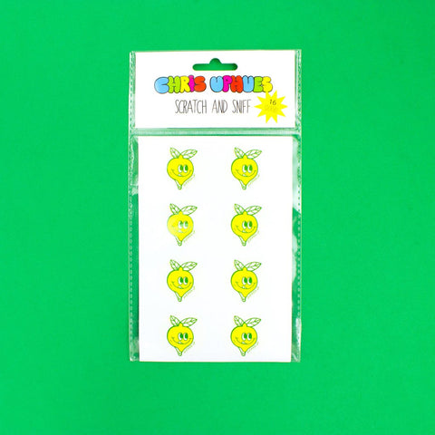 Scratch and Sniff Stickers - Lemon
