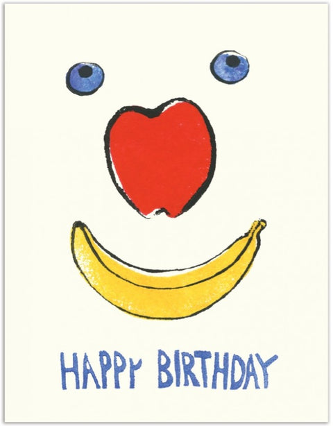 Fruit Face HB  Card