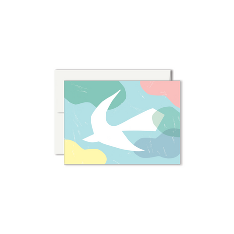 Colombe Mini Wish Card