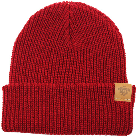 Hipster tuque - Burgundy