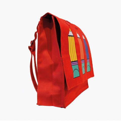 Vintage School Bag - Crayola