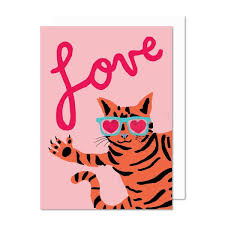 Love Cat Wish Card