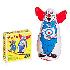 Bozo Finger Bop Bag 7""