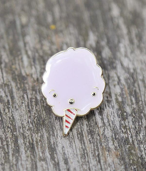 Pinky Cotton Candy Lapel Pin
