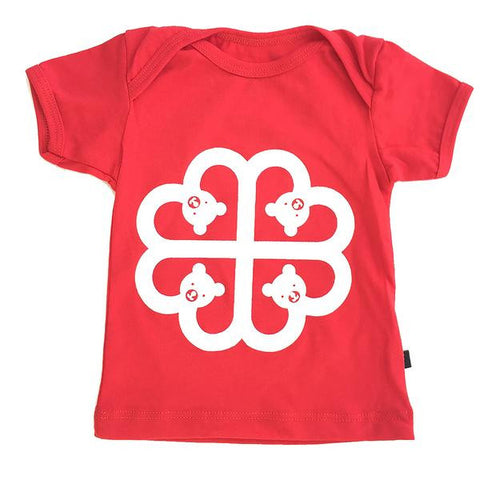 T-Shirt - Montreal Teddy Bear - Red