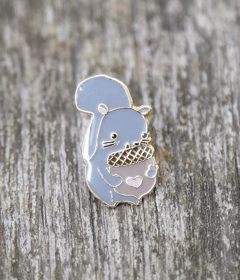 Squirrelly Lapel Pin