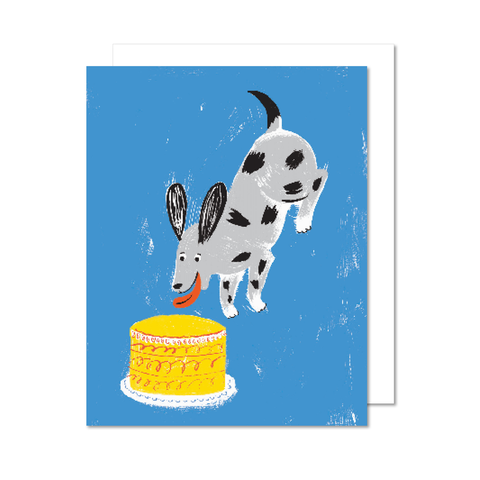 Chien Wouf Wish Card