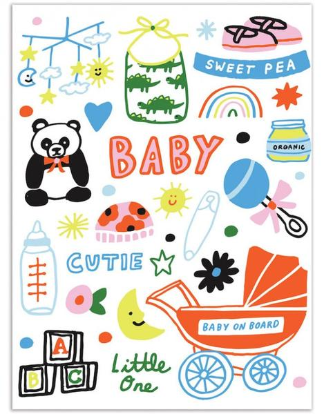 Baby Cutie Little One Card