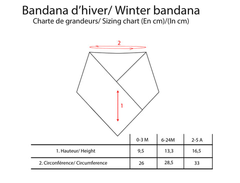 Winter Bandana - Grey