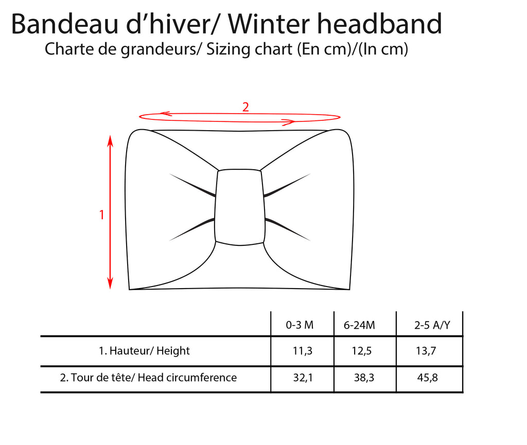 Winter Headband - Grey