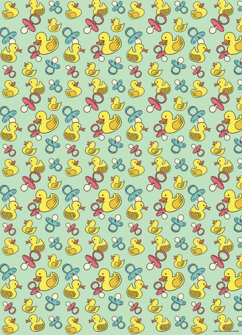 Baby Duckies Gift Wrap