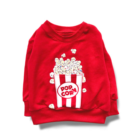 Sweater -POP CORN POCKET