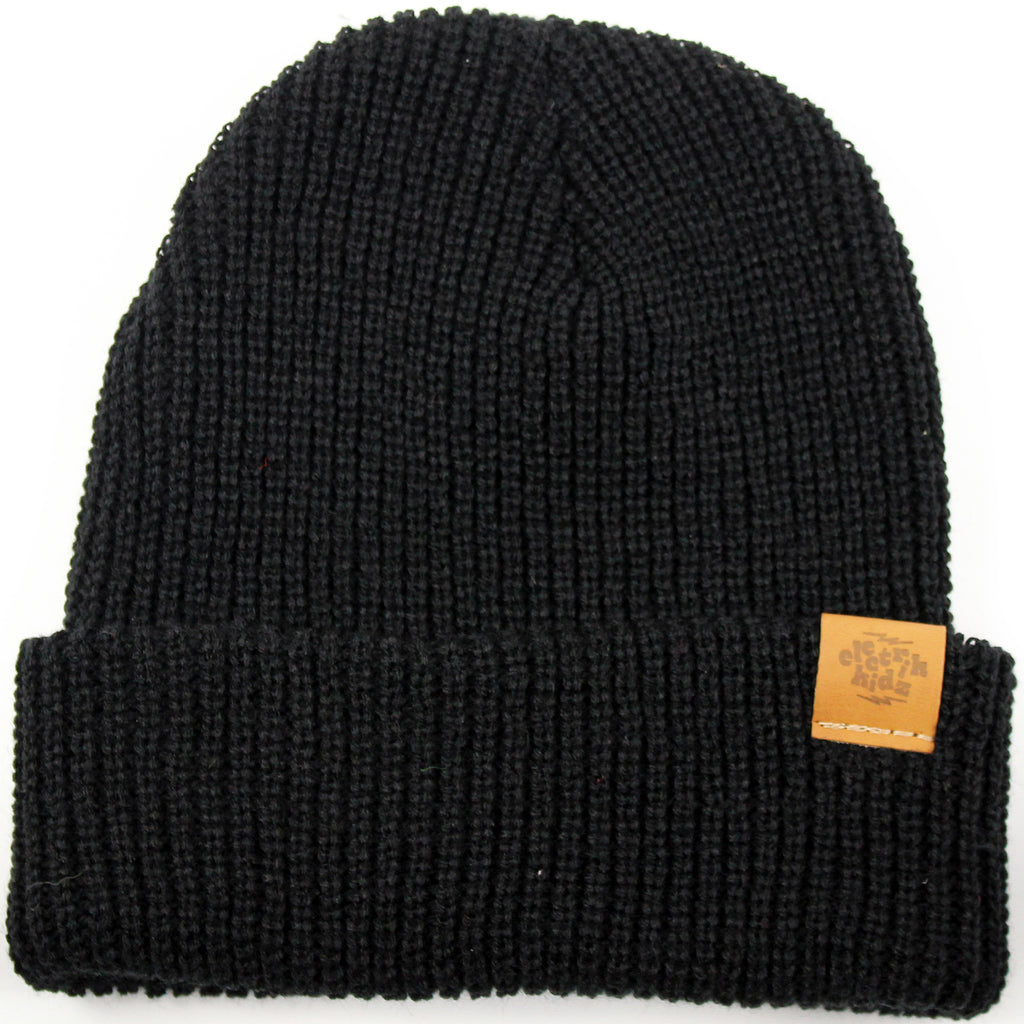 Hipster tuque - black