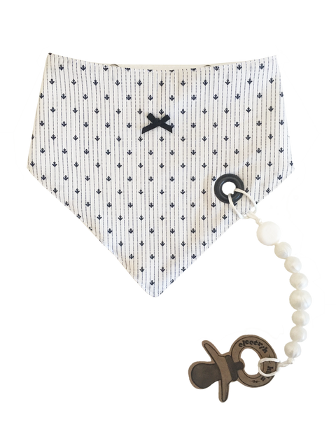 Bandana Bib with snaps - Miss Delicate