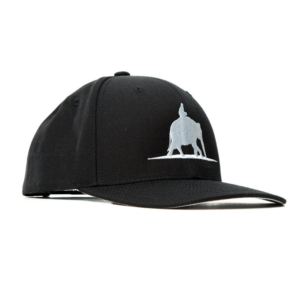 Black Elephant Snapback Hat