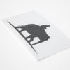 Black Elephant Sticker