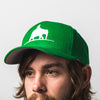Green Elephant Snapback Hat