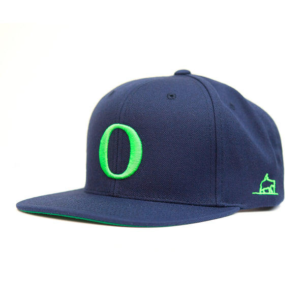 O is for Overland Snapback Hat