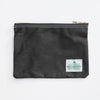 Waxed Cotton Utility Pouch - Green