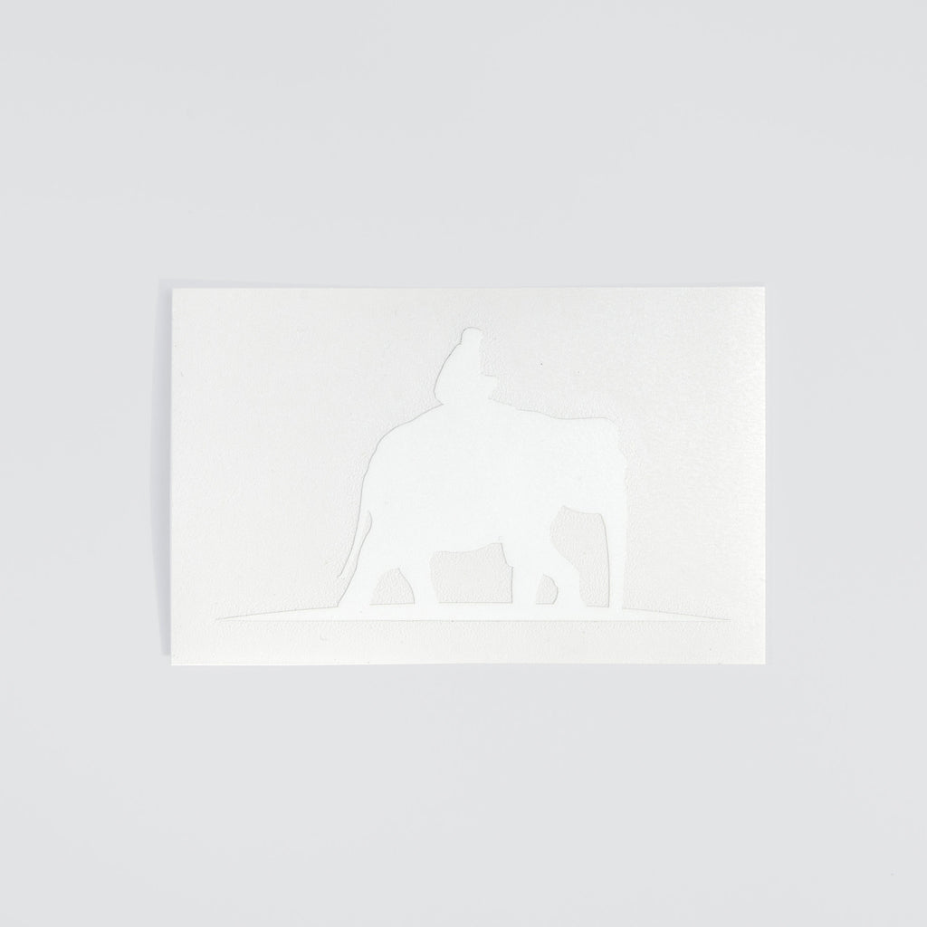 White Elephant Sticker