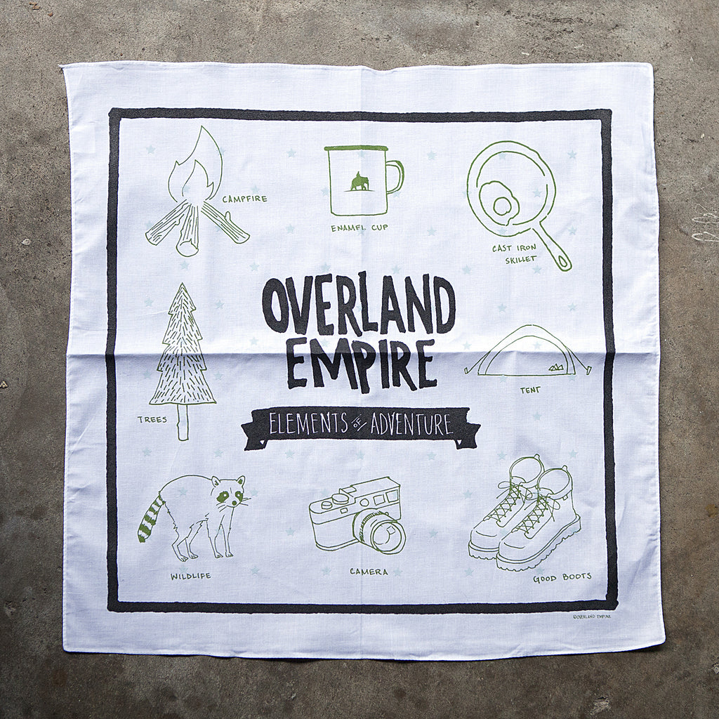 Elements of Adventure Bandana