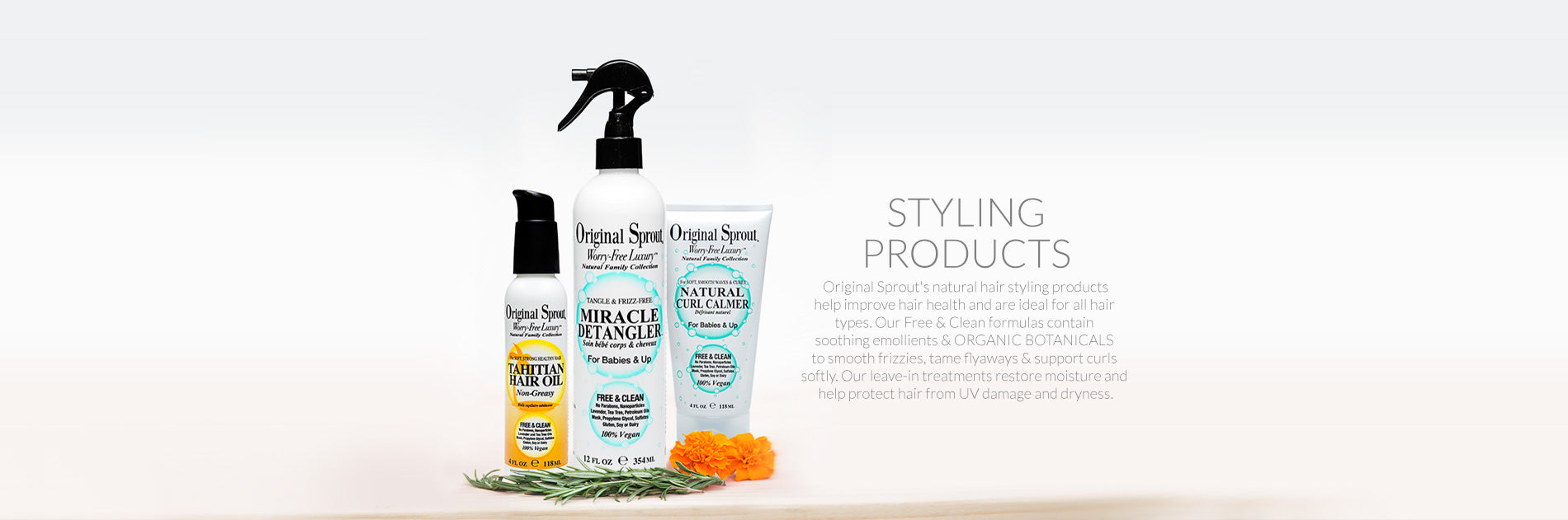 styling products