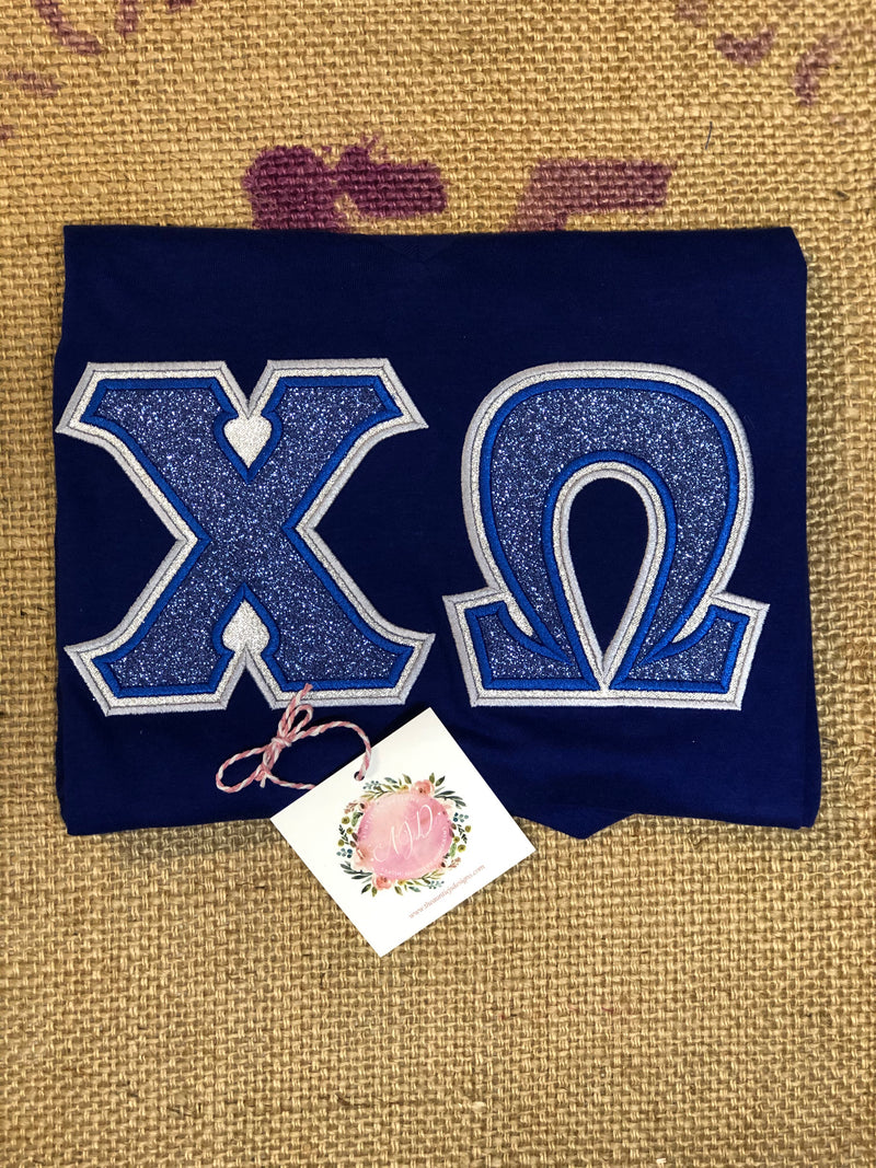 Got the Blue Sorority Tee-Sorority Shirt-Auntie J's Designs