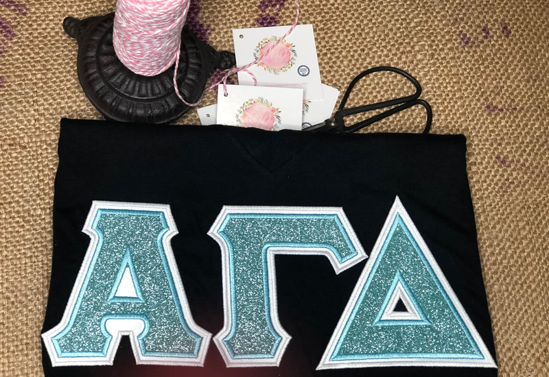 Glitter It Up Sorority American Apparel Tee
