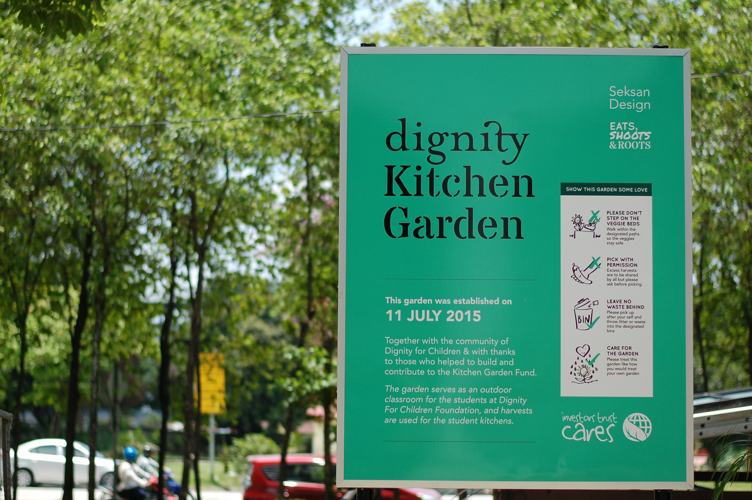 Dignity Kitchen Garden For Dignity For Children Foundation Sentul