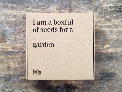 Pick & Mix Seed Box