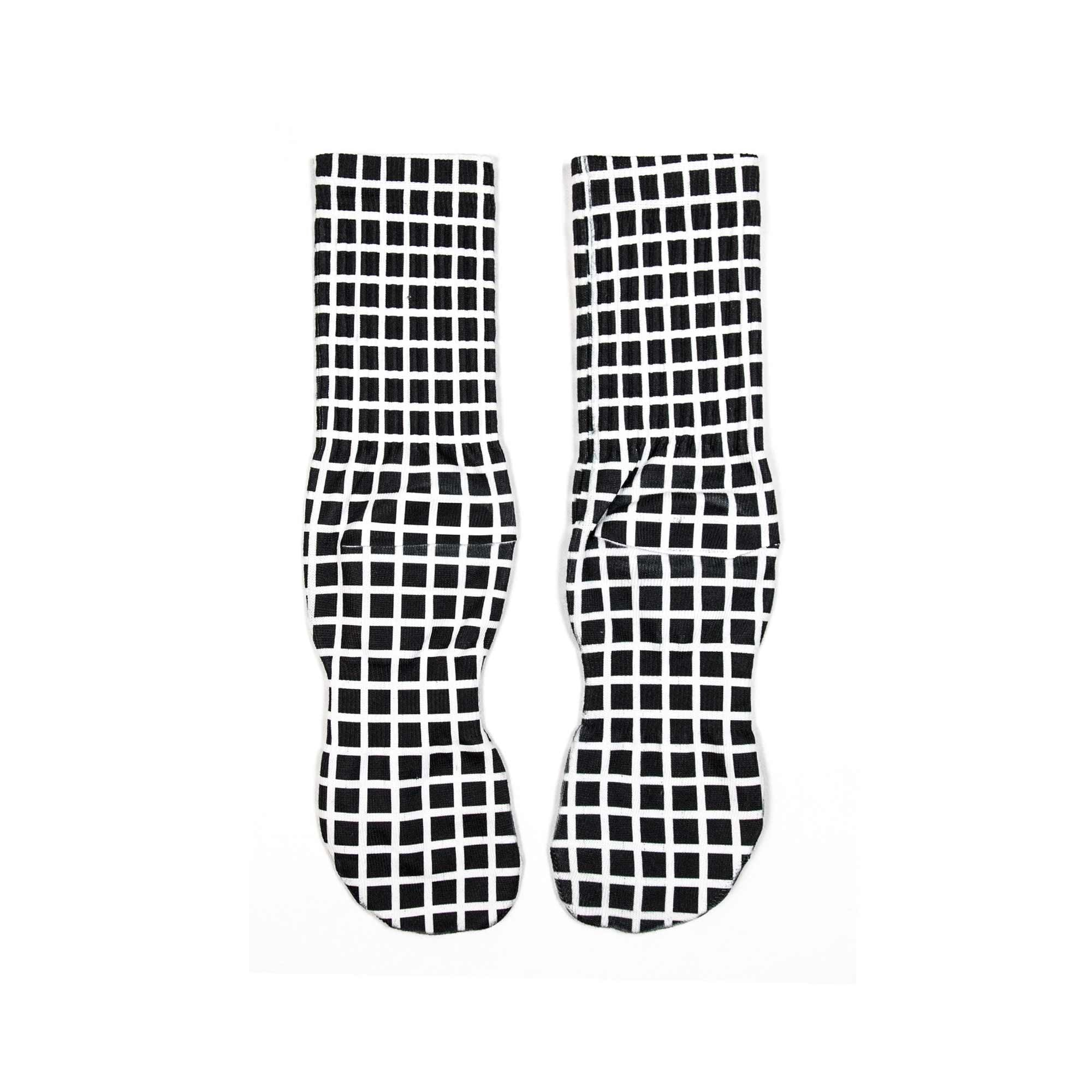Vapor Grids High Comfort Crew Socks