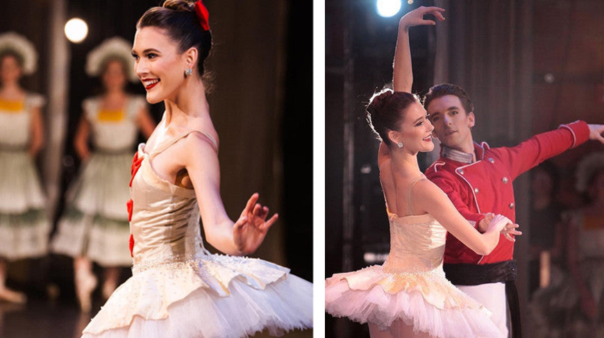 "Alyssa Bross in Los Angeles Ballet's ""The Nutcracker"". Photos by Nathaniel Solis"