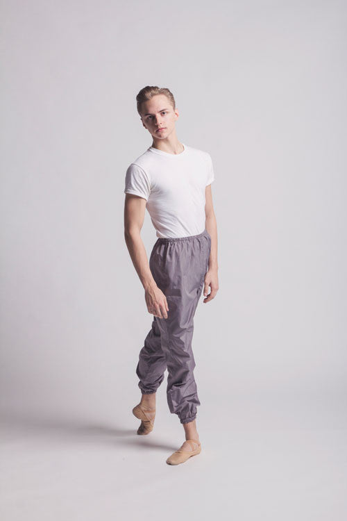 WorldWide Ballet trashbag pants - Titanium