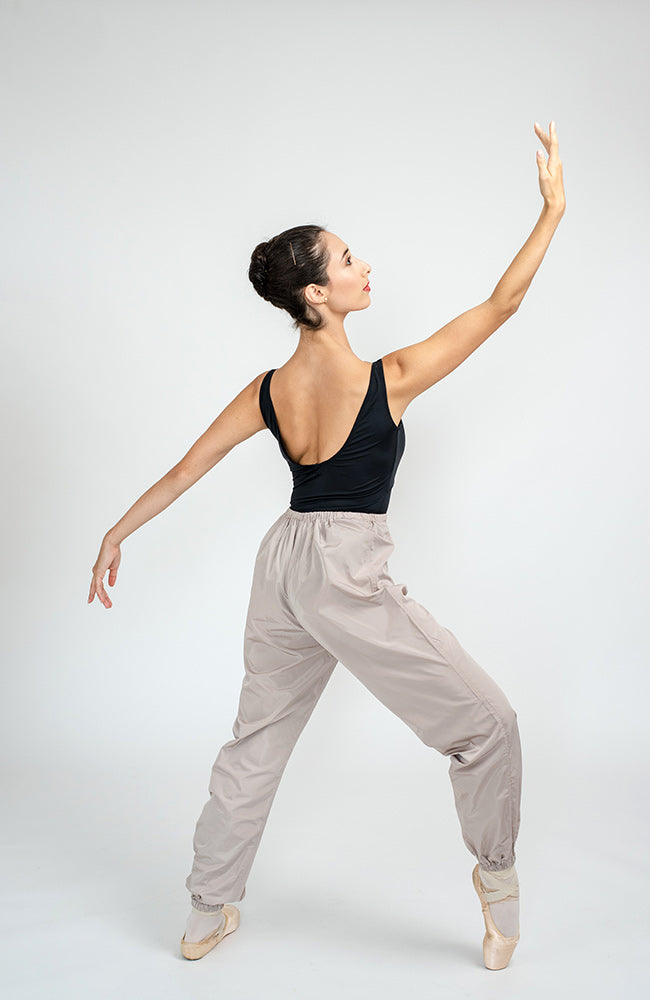 worldwideballet beige  trashbag pants