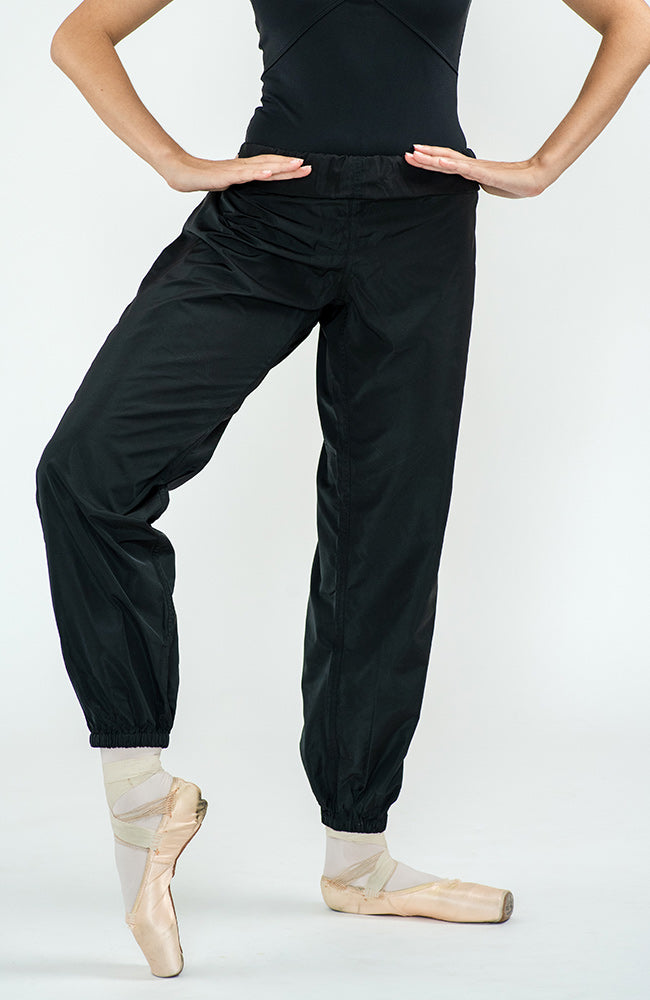 worldwideballet black trashbag pants