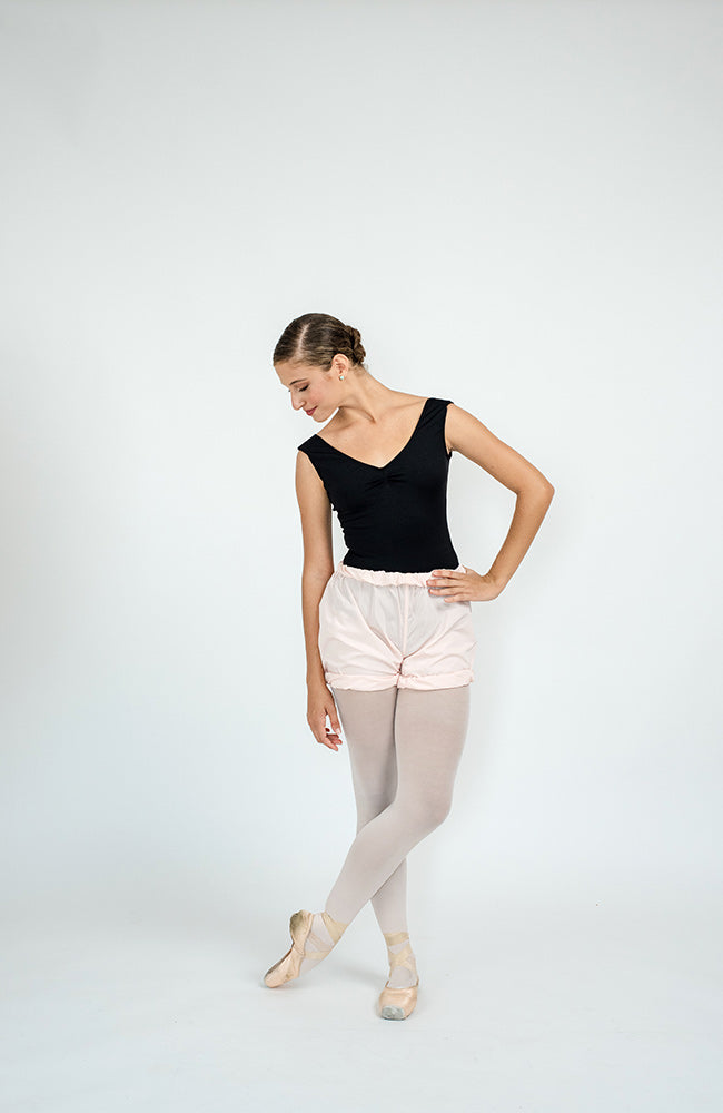 WorldWide Ballet trashbag pants Shorts Light Pink
