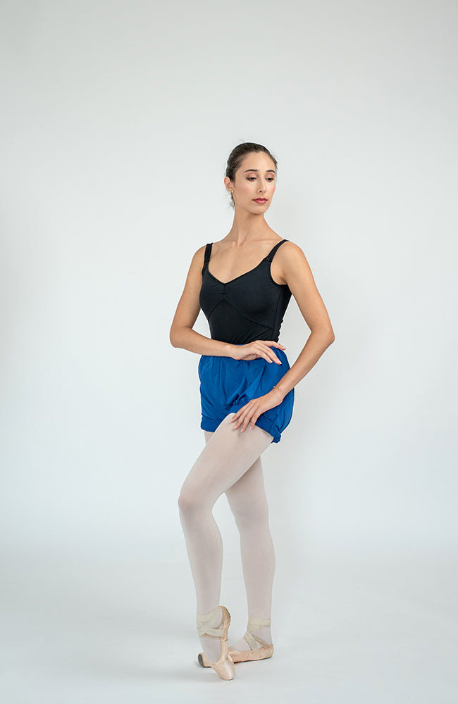 WorldWide Ballet trashbag pants Shorts Royal Blue