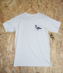 Level Skateboards, Brighton, Antihero, Skate Shop, t-shirt, white, small, pigeon